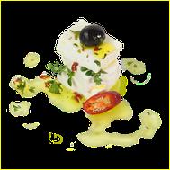 fresh soft cheese from sheep's milk no ripening idea preparatione receipt olive oil chili antipasti tuscany italy maremma