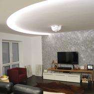 Moderne Raumgestaltung - Loftwohnung in Kassel von GERZEN wand-design