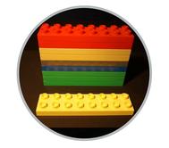 Hier finden Sie Duplo Einzelsteine in allen Formen und Farben