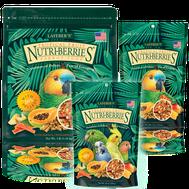 Gourmet Tropical Fruit Nutri-Berries schmecken Sittiche und Papageien
