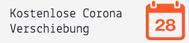 Kostenlose Corona Verschiebung