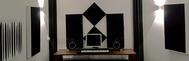 Tonstudio von DJ Last mit PhoneStar Platten