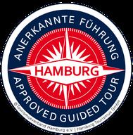 Gütesiegel des Tourismusverbands Hamburg