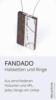 Ketten und Ringe aus Holz und HPL