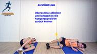 Theraband, Abduktoren, Kräftigungsübungen, Physio Übungen