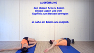 dynamisches Stretching,Brustmuskulatur, Brustwirbelsäule, Stretchingübungen, Physio Übungen, Video