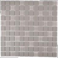 Mosaik rutschhemmend mit Glas grau