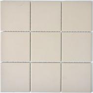 Mosaikfliese 10x10 cm Rutschhemmend hellbeige