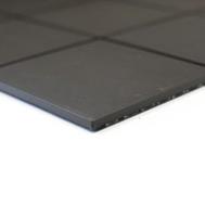 Mosaikfliese 10x10 cm Rutschhemmend schwarz