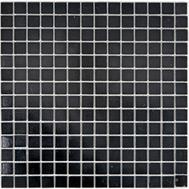 Glasmosaik 2x2 schwarz