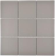 Mosaikfliese 10x10 cm Rutschhemmend grau