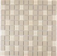 Mosaik rutschhemmend mit Glas hellbeige
