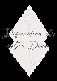 Logo de la formule de définition de décoration de mariage, proposée par My Daydream Wedding, décoratrice de mariage dans le Nord et à Lille