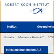 Robert Koch Institut - COVID-19 (Coronavirus SARS-CoV-2)