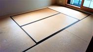 リフォーム畳に入れ替える前の部屋(和室)