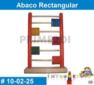 Abaco Rectangular MATERIAL DIDACTICO MADERA INTQUIETOYS PRIMERDI