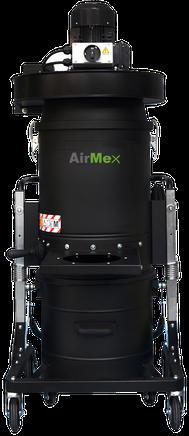 AirMex FAB-22 Industriesauger mit Absaugarm Staub Staubklasse M  Industriestaubsauger