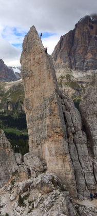 """""""Grande Torre"""" Cinque Torre, Dolomites"""