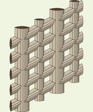 Zeolith-Kanalsystem