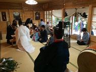 羽鳥神社 七五三詣