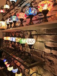 Diverse Tischlampen