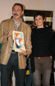 Karl Rittler und Manuela Tober bei der Siegerehrung