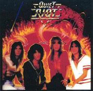 当店所有のQuiet Riot 1stアルバム