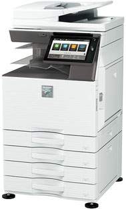 SHARP デジタルカラー複合機 MX-4151