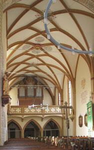Gotische Pfarrkirche von Weyer