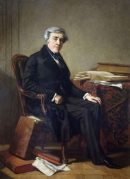 Portrait de Jules Michelet par Thomas Couture.