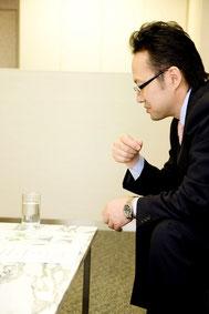 面談で会話トレーニング
