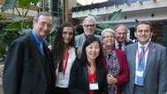 Janet Mo mit Teilnehmern der Austria Connect Great China Conference in Shanghai