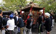 天孫神社の神輿