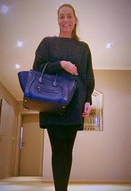 Gegönnt: die Luggage-Bag von Celine.