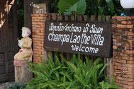 Eingangsbereich Champa Lao The Villa, Vang Vieng