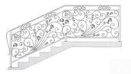 перила ограждения для лестницы тюмень купить