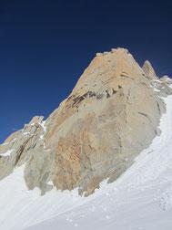 Face sud de l'aiguille du Midi : Chamonix Mont Blanc