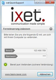 ixet Fernwartungssoftware
