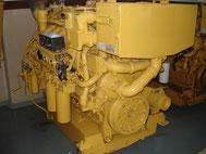 Marine engine CAT 3412 overhauled - Lamy Power special deal