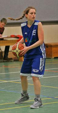 Imke Moosmüller und ihr Team wollen aufsteigen. Foto: Gust