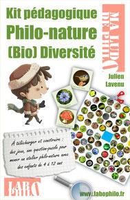 Un kit de jeux pour réfléchir sur la nature avec les enfants