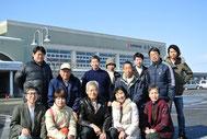 会津若松市での血液循環療法協会ボランティア治療メンバー(H24.3)
