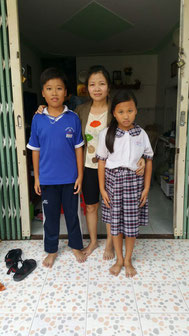 Ba mẹ con Phạm Hồ Bảo Long