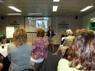 Gonnie geeft presentatie bij UVON Noord-Brabant