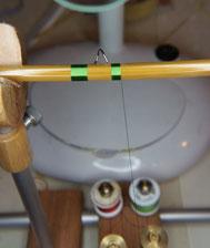 Gespließte splitcane Seide silk