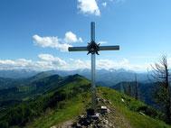 Gipfelkreuz am Almkogel