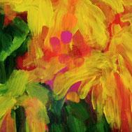 #SylvieLander-peinture-Couleur corolle
