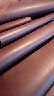 choix de cuir pour bretelles en cuir marron