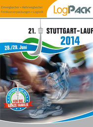 Stuttgart Lauf LogiPack Becher