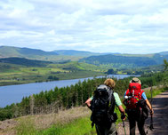 Blick auf Loch Venachar